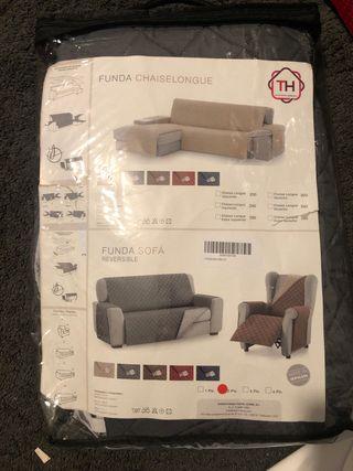 Funda sofá dos plazas