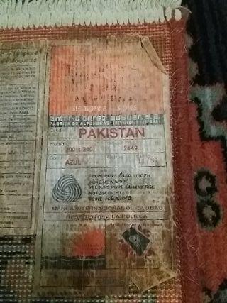 Alfombra pakistan de segunda mano por 175 € en A Coruña en ...