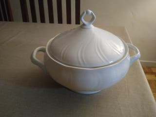 Sopera de porcelana italiana