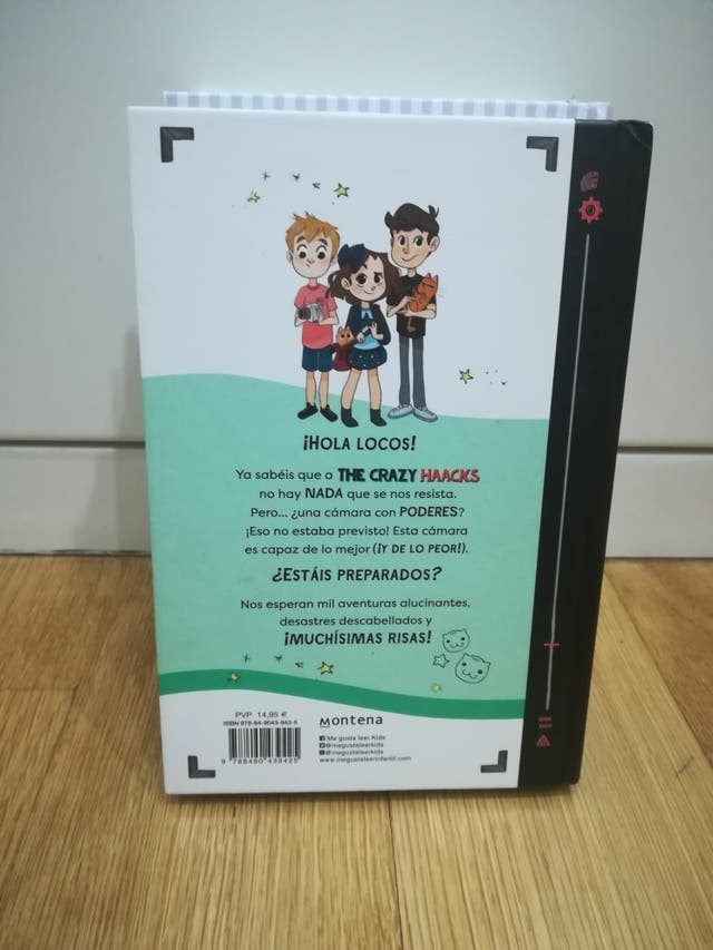 Libro. The crazy Haacks