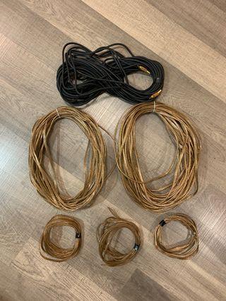 Cables altavoces y subwoofer