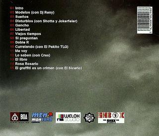 Rosa Rosario - El Oido del Escritor - CD