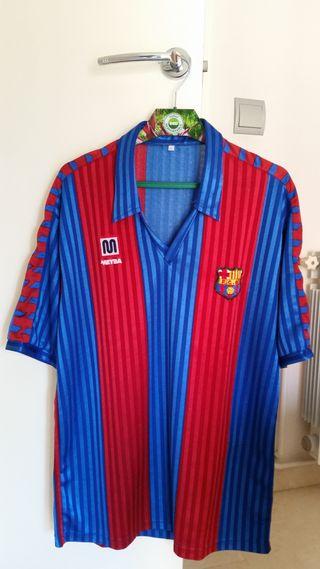 Equipación histórica FC Barcelona 1992