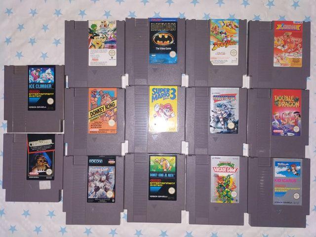 Nintendo nes juegos