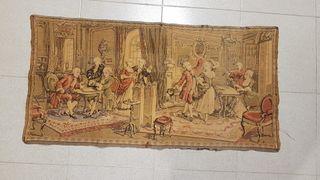 Tapiz antiguo siglo XIX-XX