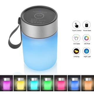 Lampara LED RGB + Powerbank