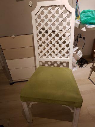 silla estilo andaluz