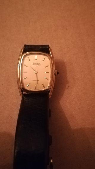 Antiguo reloj de señora Seiko Lassale