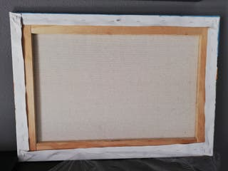 cuadro a oleo campo de los lirius de Van gogh