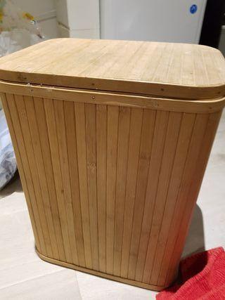 cesta de bambu pequeña