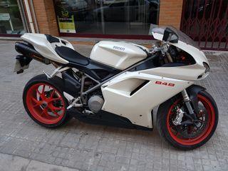 Ducati 848 Akrapovik