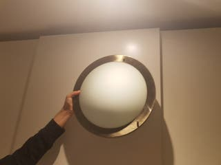 lampara de techo especial para baños