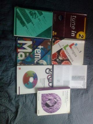 pack libros de bachillerato