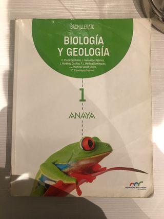 Biologia y geología 1 Bachillerato