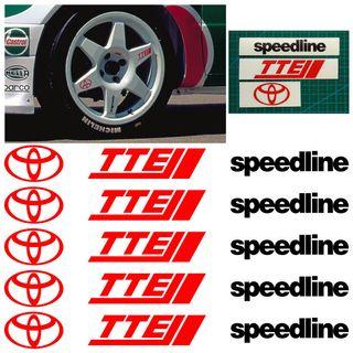 Pegatinas llantas Toyota Corolla WRC
