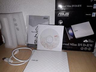 DvD externo blanco Asus