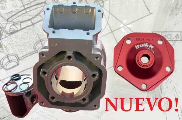 Kit Italkit 140cc D57 1 segmento Rotax