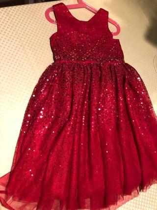 Vestido de fiesta niña T 6-7