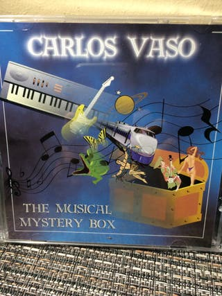 "Carlos Vaso ""The musical mystery box"" CD 2001"