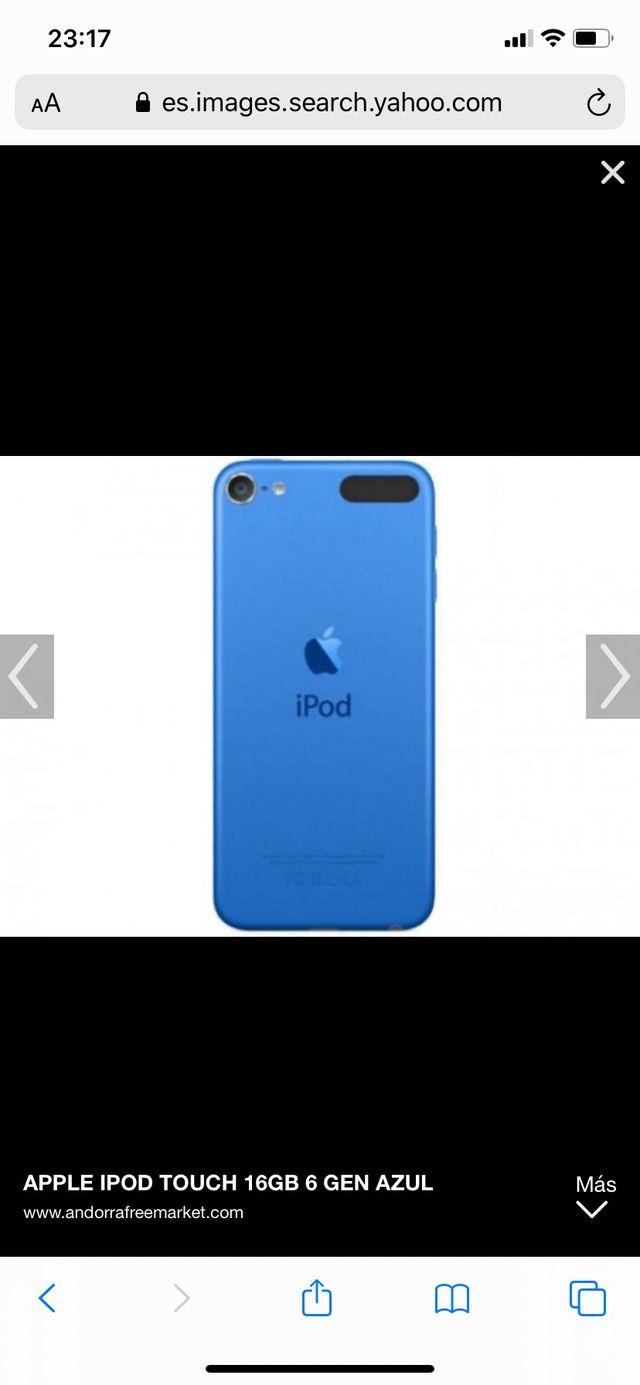 iPod touch 16 MG (azul o rosa)