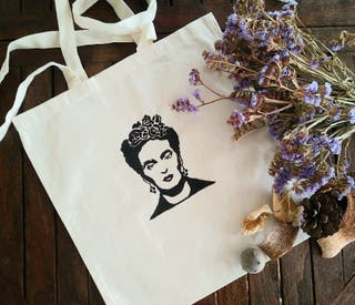 Bolsa ecológica Frida Kahlo