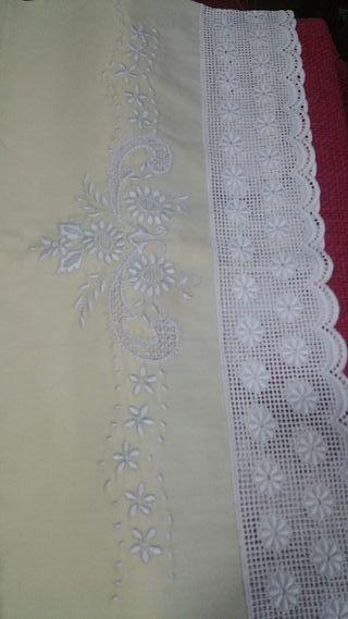 sábanas antiguas de hilo