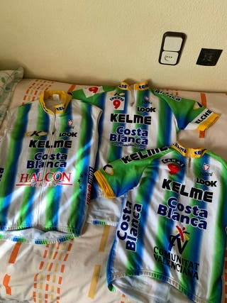 Ropa equipo Kelme