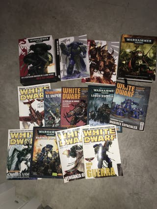 Libros Warhammer