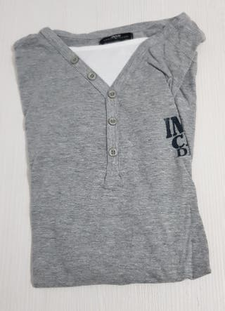 camiseta de manga larga hombre