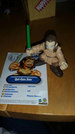 Qui-Gon Jinn Galactic Heroes Star Wars