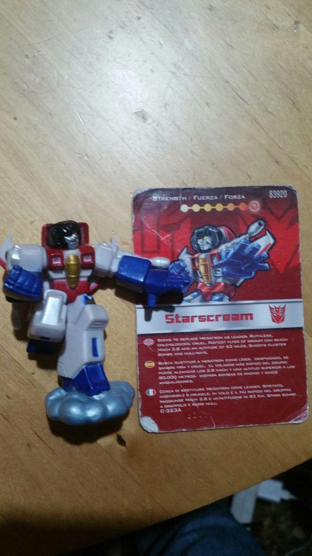 Starscream Robot Heroes Transformers