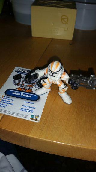 Clone Trooper Naranja Galactic Heroes Star Wars
