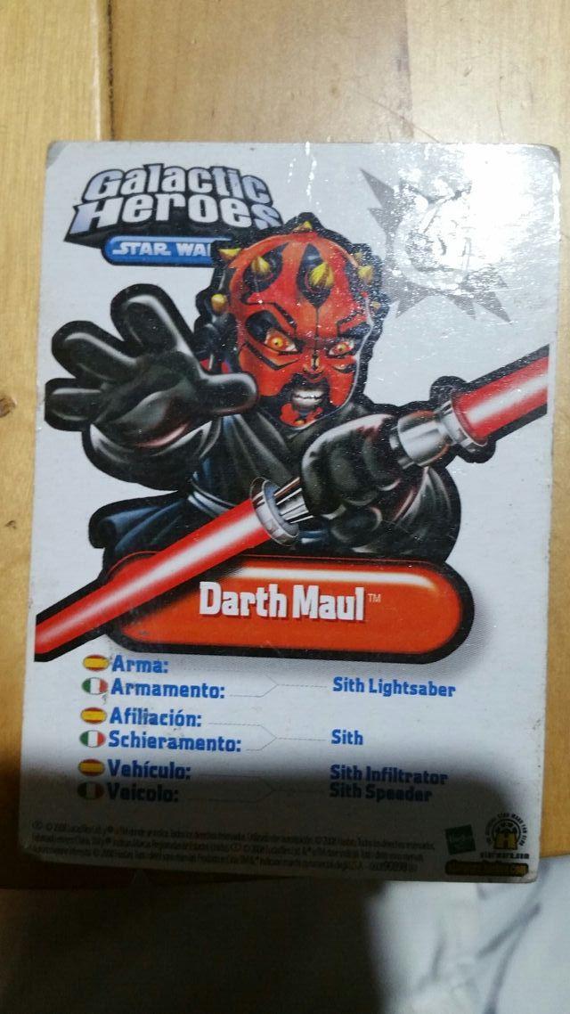 Darth Maul Galactic Heroes Star Wars