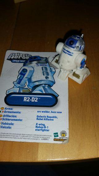 R2D2 Galactic Heroes Star Wars