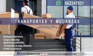 MUDANZAS, PORTES Y TRANSPORTES