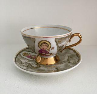 Taza de porcelana comunión