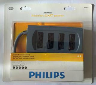 Philips Conmutador autómata. 4 vías euroconector
