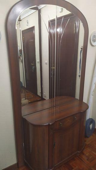 Recibidor mueble con espejo