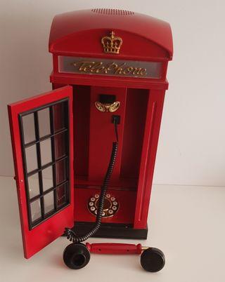 TELEFONO FIJO EN FORMA DE CABINA LONDRES