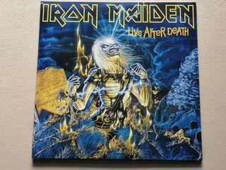 """doble lp vinilo IRON MAIDEN """"LIVE AFTER DEATH"""""""