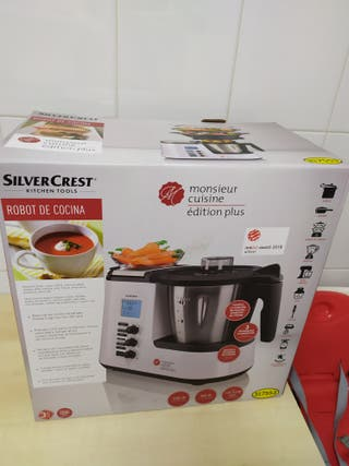 Robot cocina Lidl. Monsieur Cuisine. Edición Plus.