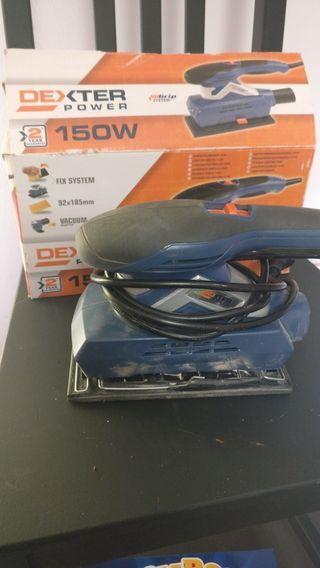 Lijadora eléctrica Dexter 150w