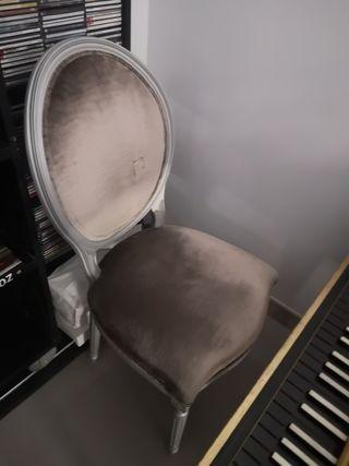 sillas estilo Luis XVI