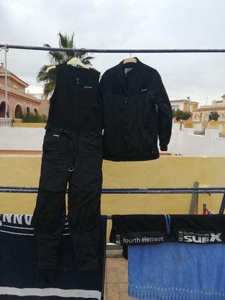 traje de buceo seco termico