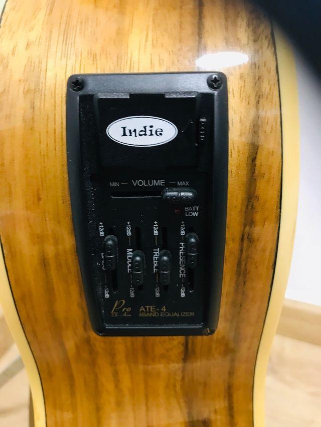 Guitarra electro acústica Indie Visual