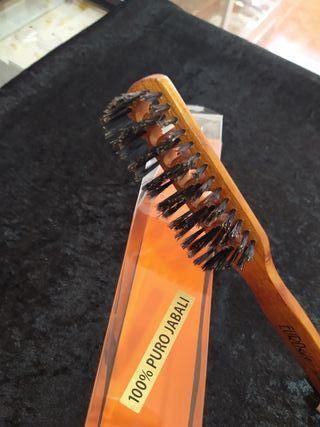 cepillo con cerda 100% jabali
