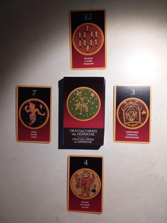 tarot oraculo - Oráculo Hindú del Despertar