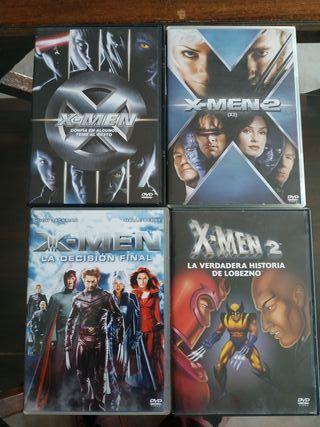 películas DVD X-MEN