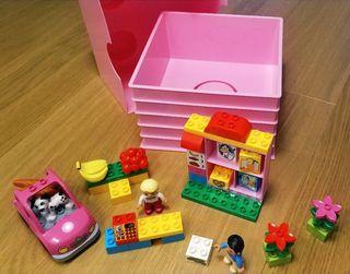 Lego Duplo Supermercado + Caja Lego