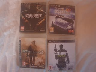 cod black ops, modern warfare 2, warfare 3 ps3